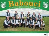 Babouci - nejstarší jihočeská dechovka  - Plakát 2013-2018