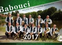 Babouci - nejstarší jihočeská dechovka - Stolní kalendář na rok 2017
