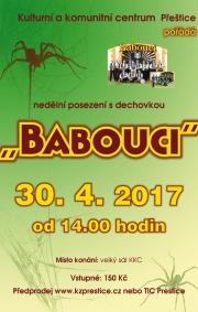 Babouci - nejstarší jihočeská dechovka - Přeštice 30.4.2017