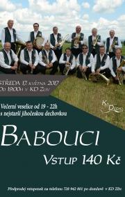 Babouci - nejstarší jihočeská dechovka - Zliv