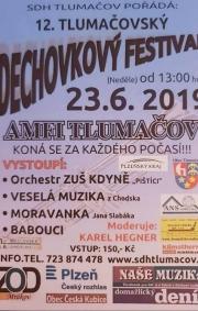 Babouci - nejstarší jihočeská dechovka  - Tlumačov 23.6.2019